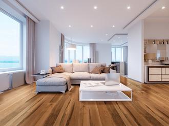 Pisos de madera para incrementar el valor de tu departamento: madera de ingeniería